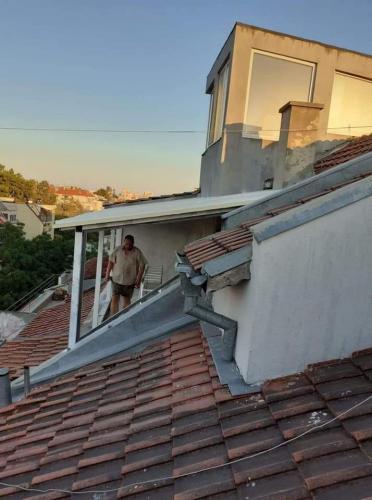 Покриви метална конструкция